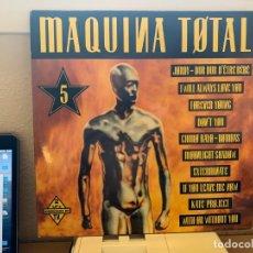 Discos de vinilo: VARIOUS – MAQUINA TOTAL 5. DISCO VINILO. ESTADO VG+/VG+.1993. ENTREGA 24H. Lote 206460738