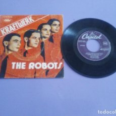 Discos de vinilo: RARISIMO SINGLE. KRAFTWERK - THE ROBOTS - SPAIN. 1978. CAPITOL 10 C 006 085.496. Lote 206464703