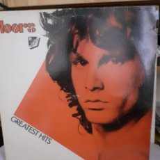 Discos de vinilo: LP THE DOORS GREATEST HITS ELEKTRA 1980. Lote 206465706