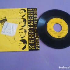 Discos de vinilo: GENIAL SINGLE. KRAFTWERK. CALCULADORA DE BOLSILLO. SPAIN 1981. EMI 10C 006 064365. Lote 206465948