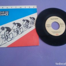 Discos de vinilo: JOYA SINGLE PROMO ? KRAFTWERK-TOUR DE FRANCE - 1983 - SPAIN. SELLO EMI 006 1651867. Lote 206466705