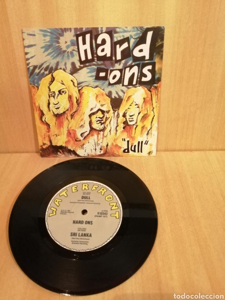 HARD-ONS. DULL. SRI LANKA. (Música - Discos - Singles Vinilo - Punk - Hard Core)