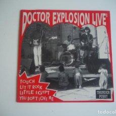 Discos de vinilo: DR. EXPLOSION EP THUNDERPUSSY 1992 TOUCH + 3. Lote 206472775