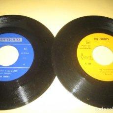 Discos de vinilo: LOS JUNIOR´S - LOTE DE DOS SINGLES. Lote 206475447