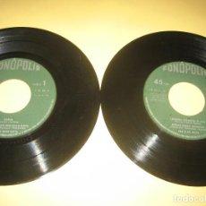 Discos de vinilo: LOS BLUE BOYS - LOTE DE DOS VINILOS. Lote 206476045