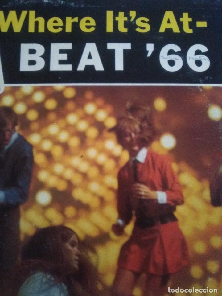 Discos de vinilo: JOYA LP 1966 . The Haircuts and The Impossibles ‎– Heres Where Its At- Beat 66. ALBUM SF 27100 - Foto 6 - 206476558