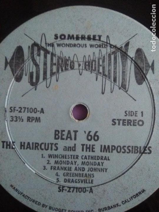 Discos de vinilo: JOYA LP 1966 . The Haircuts and The Impossibles ‎– Heres Where Its At- Beat 66. ALBUM SF 27100 - Foto 15 - 206476558