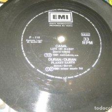 Discos de vinilo: CASAL - DURAN DURAN - FLEXIBLE PROMOCIONAL 1981. Lote 206477145