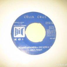 Discos de vinilo: CELIA CRUZ - 1966 - SOLO VINILO. Lote 206477722