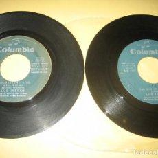 Discos de vinilo: LOS IBEROS - LOTE DE DOS SINGLES - SOLO VINILOS. Lote 206478520