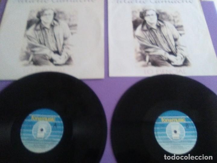 JOYA DOBLE LP ORIGINAL RECOPILACION - HILARIO CAMACHO - LO ESENCIAL - 81.2125 FONOMUSIC AÑO 1991 (Música - Discos - LP Vinilo - Solistas Españoles de los 70 a la actualidad)