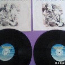 Discos de vinilo: JOYA DOBLE LP ORIGINAL RECOPILACION - HILARIO CAMACHO - LO ESENCIAL - 81.2125 FONOMUSIC AÑO 1991. Lote 206479971