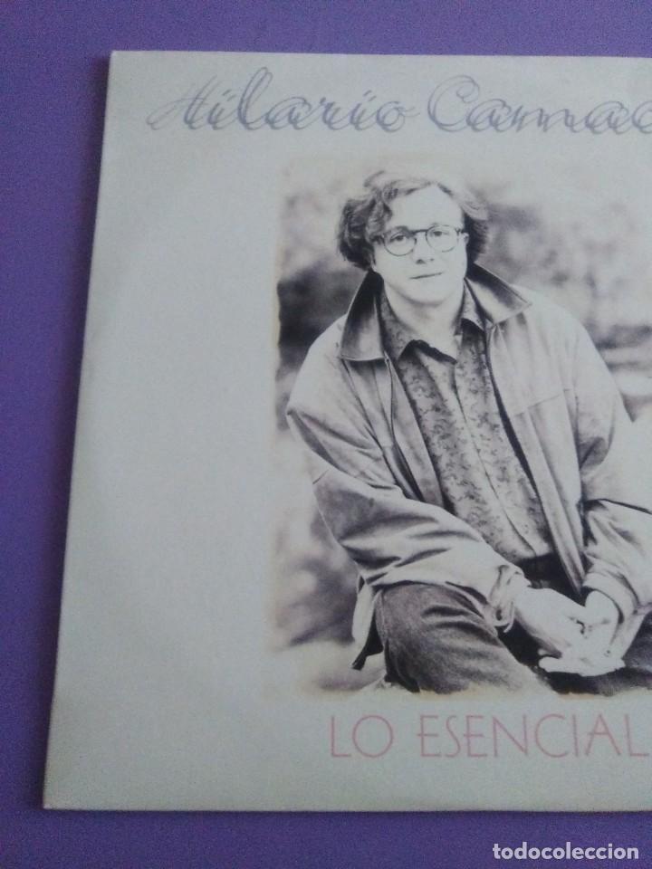 Discos de vinilo: JOYA DOBLE LP ORIGINAL RECOPILACION - Hilario Camacho - Lo esencial - 81.2125 Fonomusic AÑO 1991 - Foto 4 - 206479971
