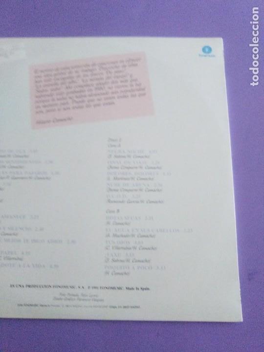 Discos de vinilo: JOYA DOBLE LP ORIGINAL RECOPILACION - Hilario Camacho - Lo esencial - 81.2125 Fonomusic AÑO 1991 - Foto 10 - 206479971