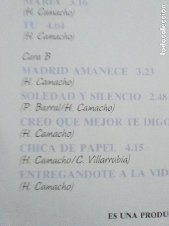 Discos de vinilo: JOYA DOBLE LP ORIGINAL RECOPILACION - Hilario Camacho - Lo esencial - 81.2125 Fonomusic AÑO 1991 - Foto 12 - 206479971