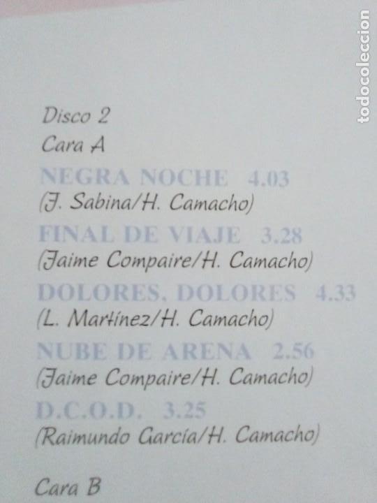 Discos de vinilo: JOYA DOBLE LP ORIGINAL RECOPILACION - Hilario Camacho - Lo esencial - 81.2125 Fonomusic AÑO 1991 - Foto 13 - 206479971