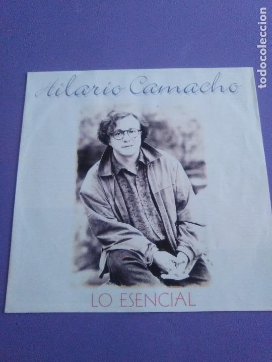 Discos de vinilo: JOYA DOBLE LP ORIGINAL RECOPILACION - Hilario Camacho - Lo esencial - 81.2125 Fonomusic AÑO 1991 - Foto 15 - 206479971
