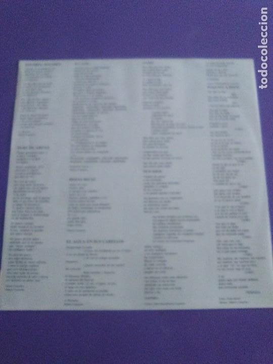 Discos de vinilo: JOYA DOBLE LP ORIGINAL RECOPILACION - Hilario Camacho - Lo esencial - 81.2125 Fonomusic AÑO 1991 - Foto 16 - 206479971