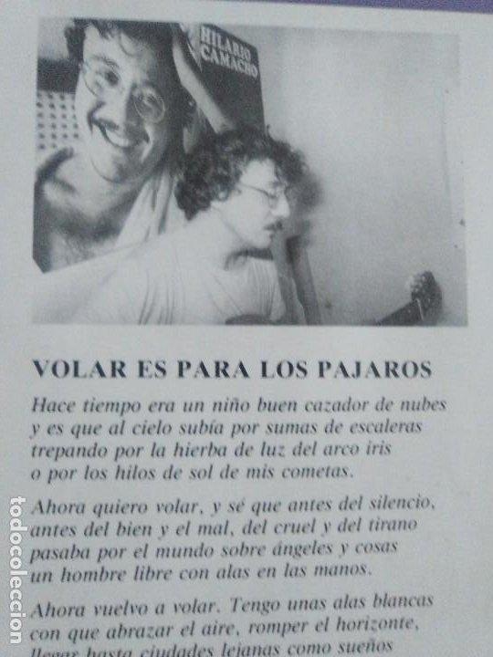 Discos de vinilo: JOYA DOBLE LP ORIGINAL RECOPILACION - Hilario Camacho - Lo esencial - 81.2125 Fonomusic AÑO 1991 - Foto 18 - 206479971