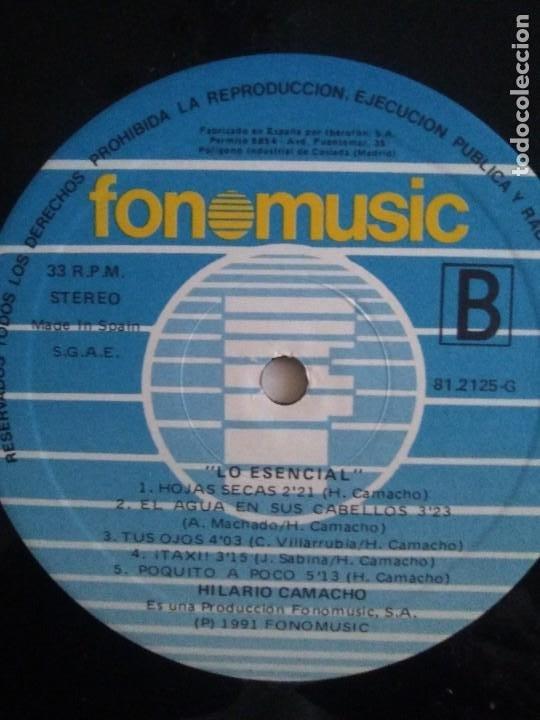 Discos de vinilo: JOYA DOBLE LP ORIGINAL RECOPILACION - Hilario Camacho - Lo esencial - 81.2125 Fonomusic AÑO 1991 - Foto 27 - 206479971