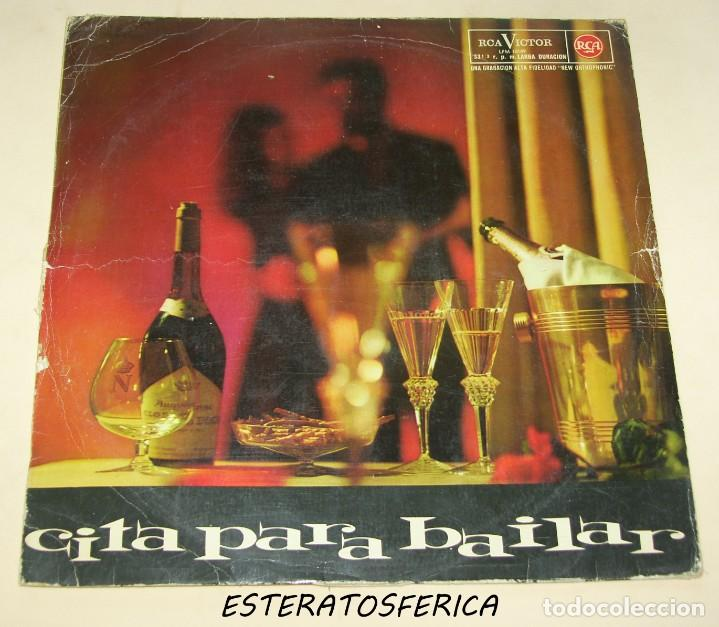 CITA PARA BAILAR - VARIOS - RCA 1962 (Música - Discos - LP Vinilo - Orquestas)