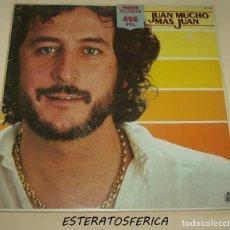 Discos de vinilo: JUAN PARDO - MUCHO MAS JUAN - HISPAVOX 1983. Lote 206482645
