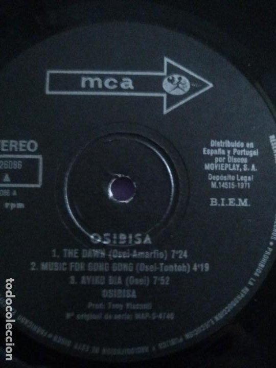 Discos de vinilo: JOYA LP FUNK ORIGINAL 1971 . OSIBISA. SELLO MCA RECORDS S 26.086. PORTADA ABIERTA. - Foto 13 - 206485310