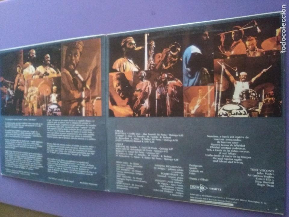 Discos de vinilo: GENIAL LP ORIGINAL FUNK 1972. OSIBISA - WOYAYA. SPAIN - SELLO M C A - S 26114.PORTADA ABIERTA. - Foto 6 - 206486066