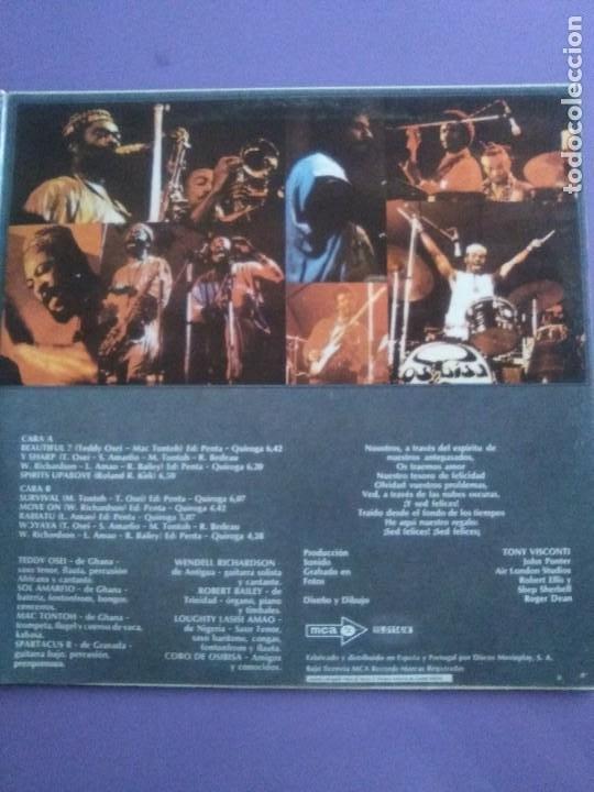 Discos de vinilo: GENIAL LP ORIGINAL FUNK 1972. OSIBISA - WOYAYA. SPAIN - SELLO M C A - S 26114.PORTADA ABIERTA. - Foto 8 - 206486066
