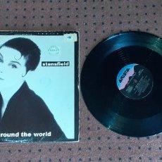 Discos de vinilo: LISA STANSFIELD - ALL AROUND THE WORLD - MAXI - USA - ARISTA - PLS 956 - L -. Lote 206486365