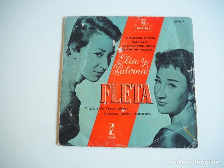 Discos de vinilo: LOTE EPs Chicas ye-yé Serenella / Hermanas Serrano / Licia / Hermanas Fleta Oportunidad - Foto 2 - 206486827