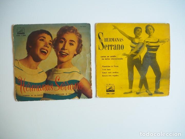 Discos de vinilo: LOTE EPs Chicas ye-yé Serenella / Hermanas Serrano / Licia / Hermanas Fleta Oportunidad - Foto 3 - 206486827