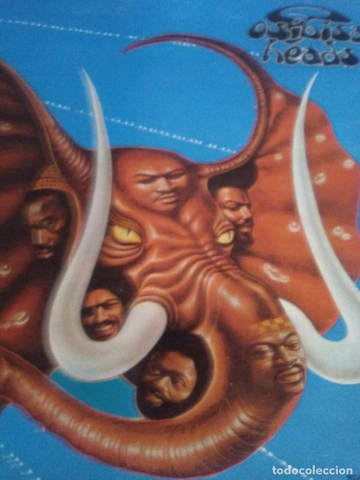 Discos de vinilo: JOYA LP FUNK ORIGINAL 1972 . OSIBISA - HEADS. SPAIN. MCA S 26.138 PORTADA ABIERTA. - Foto 3 - 206487673