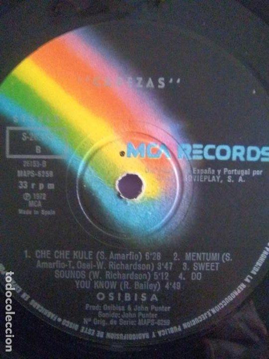 Discos de vinilo: JOYA LP FUNK ORIGINAL 1972 . OSIBISA - HEADS. SPAIN. MCA S 26.138 PORTADA ABIERTA. - Foto 20 - 206487673