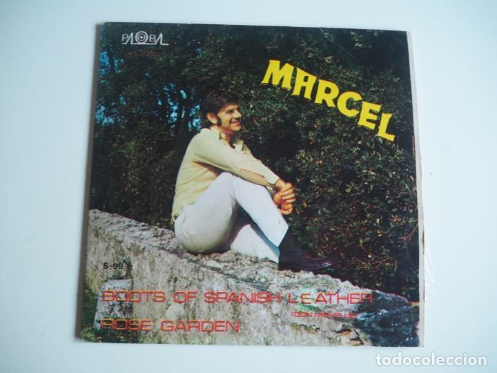 MARCEL (MARCEL Y MICHELLE) - BOOTS OF SPANISH LEATHER (BOB DYLAN) PALOBAL S-99 (1970) (Música - Discos - Singles Vinilo - Solistas Españoles de los 50 y 60)