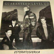 Discos de vinilo: LEVEL 42 - GUARANTEED - BMG SPAIN 1991. Lote 206489076