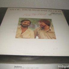 Discos de vinilo: ARTIE TRAUM & PAT ALGER - FROM THE HEART. Lote 206489695