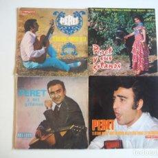 Discos de vinilo: LOTE PERET 3 EPS Y 1 SINGLE (1960-1967) OPORTUNIDAD. Lote 206490016