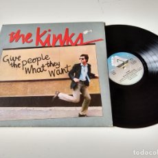 Discos de vinilo: THE KINKS. GIVE THE PEOPLE WHAT THEY WANT.1981. LP ARISTA. Lote 206490040