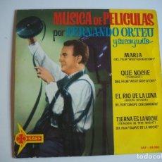 Discos de vinilo: FERNANDO ORTEU EP SAEF, 55085 (1962) MÚSICA DE PELÍCULAS. Lote 206490361