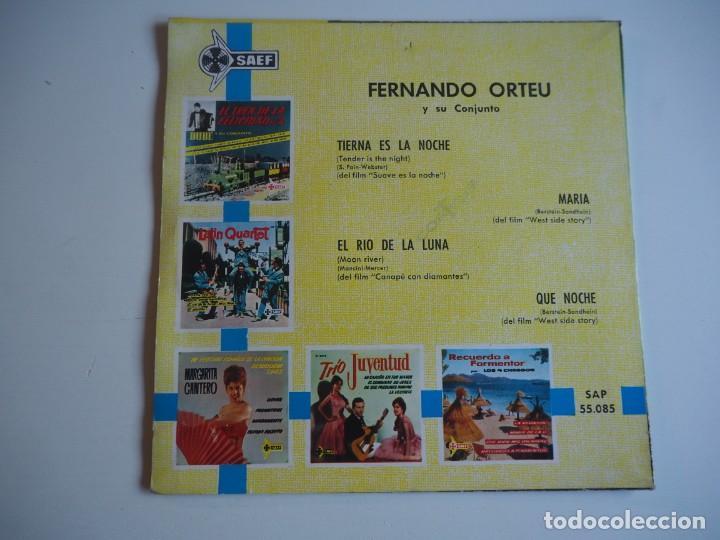 Discos de vinilo: FERNANDO ORTEU EP SAEF, 55085 (1962) Música de películas - Foto 2 - 206490361