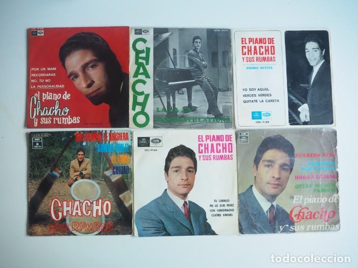 LOTE CHACHO 5 EPS + 1 SINGLE (REGAL_EMI) (1966-1970) RUMBA (Música - Discos de Vinilo - EPs - Solistas Españoles de los 50 y 60)