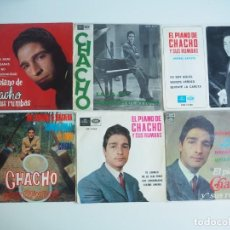 Discos de vinilo: LOTE CHACHO 5 EPS + 1 SINGLE (REGAL_EMI) (1966-1970) RUMBA. Lote 206490741