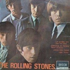 Discos de vinilo: ROLLING STONES EP SELLO DECCA EDITADO EN ESPAÑA AÑO 1965. Lote 206490803
