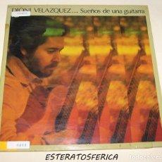 Discos de vinilo: DIONI VELAZQUEZ - SUEÑOS DE UNA GUITARRA - RCA 1983. Lote 206491101