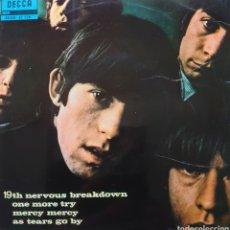 Discos de vinilo: ROLLING STONES EP SELLO DECCA EDITADO EN ESPAÑA AÑO 1966. Lote 206491406