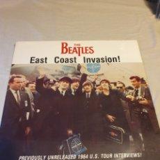 Discos de vinilo: THE BEATLES EAST COAST INVASIÓN!. Lote 206492087