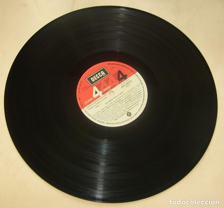 Discos de vinilo: Sounds Exciting !. Temas clásicos del cine. - DECCA SPAIN 1976 - Foto 4 - 206492462