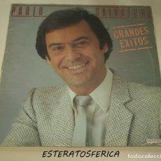 Discos de vinilo: PAOLO SALVATORE - GRANDES EXITOS - HISPAVOX 1983. Lote 206493238