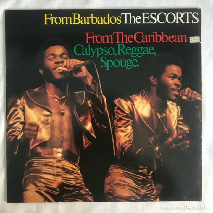 THE ESCORTS – FROM THE CARIBBEAN 1981 (Música - Discos - LP Vinilo - Reggae - Ska)